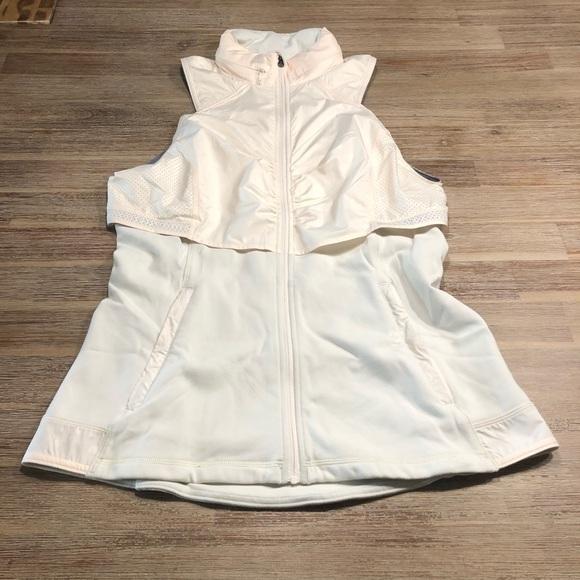 lululemon athletica Jackets & Blazers - Lululemon Kanto Catch Me Vest Angel Wing/Ghost Dot